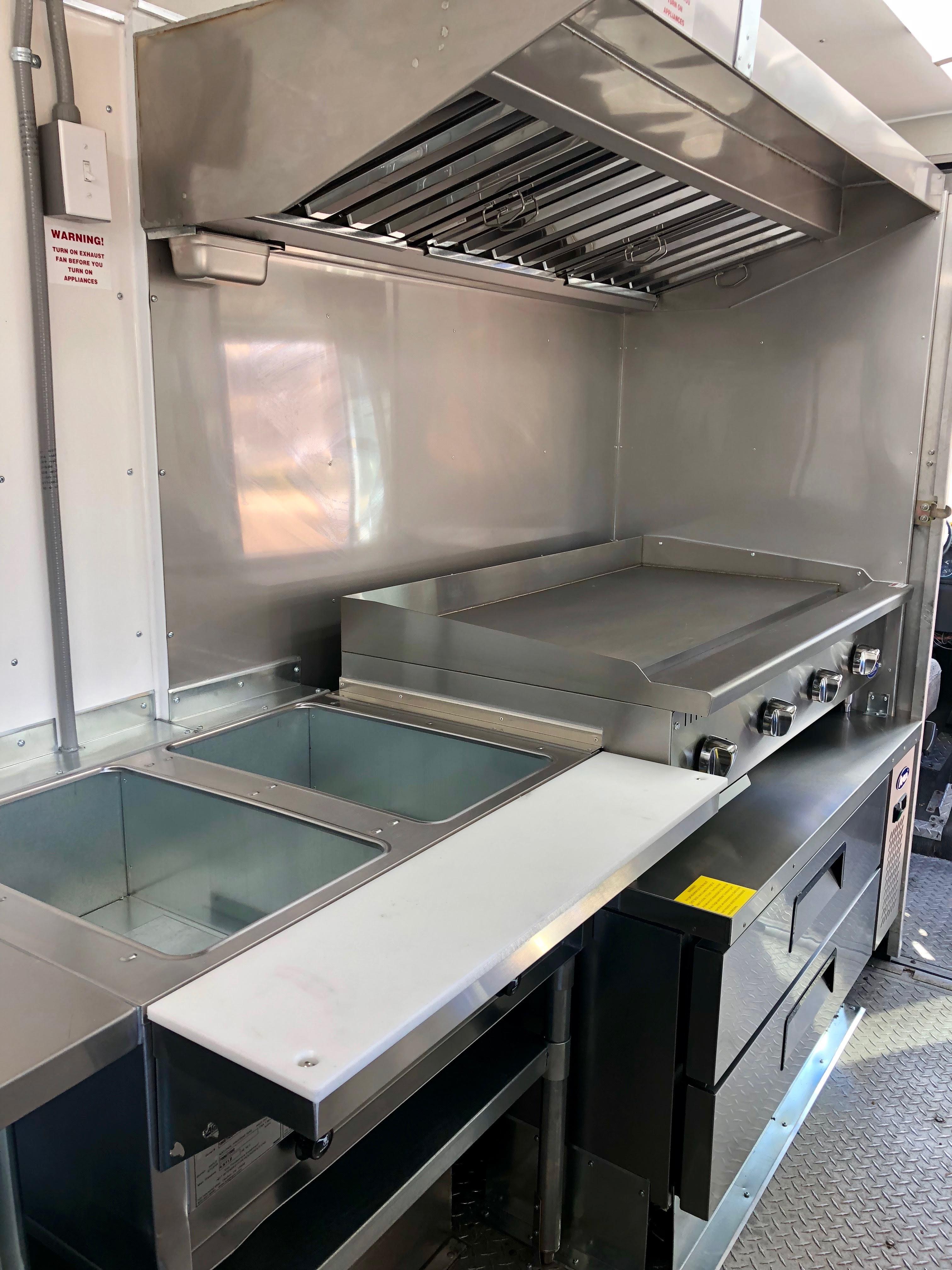 Custom Meridian Foodtruck Kitchens