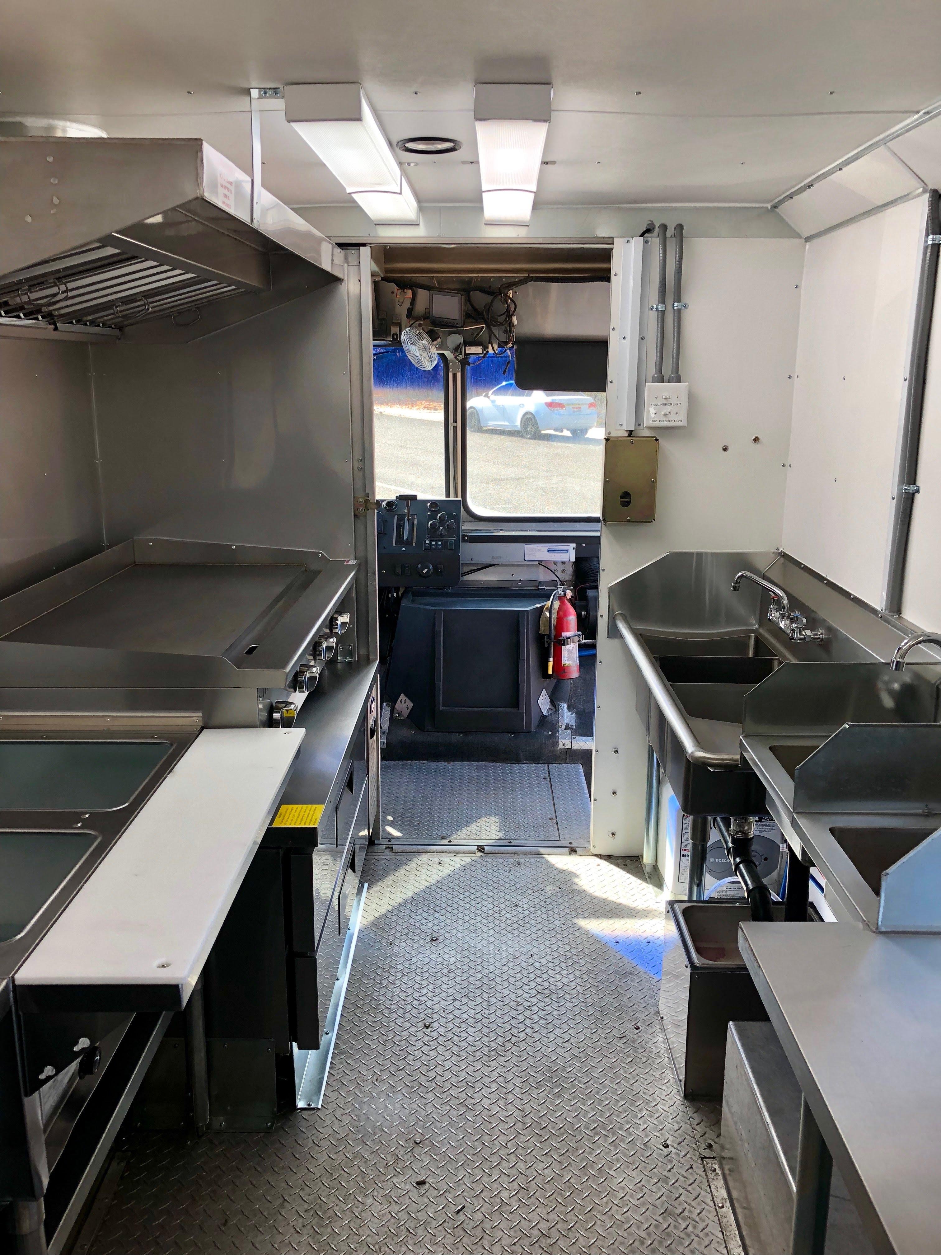 Custom Idaho Foodtruck Kitchens