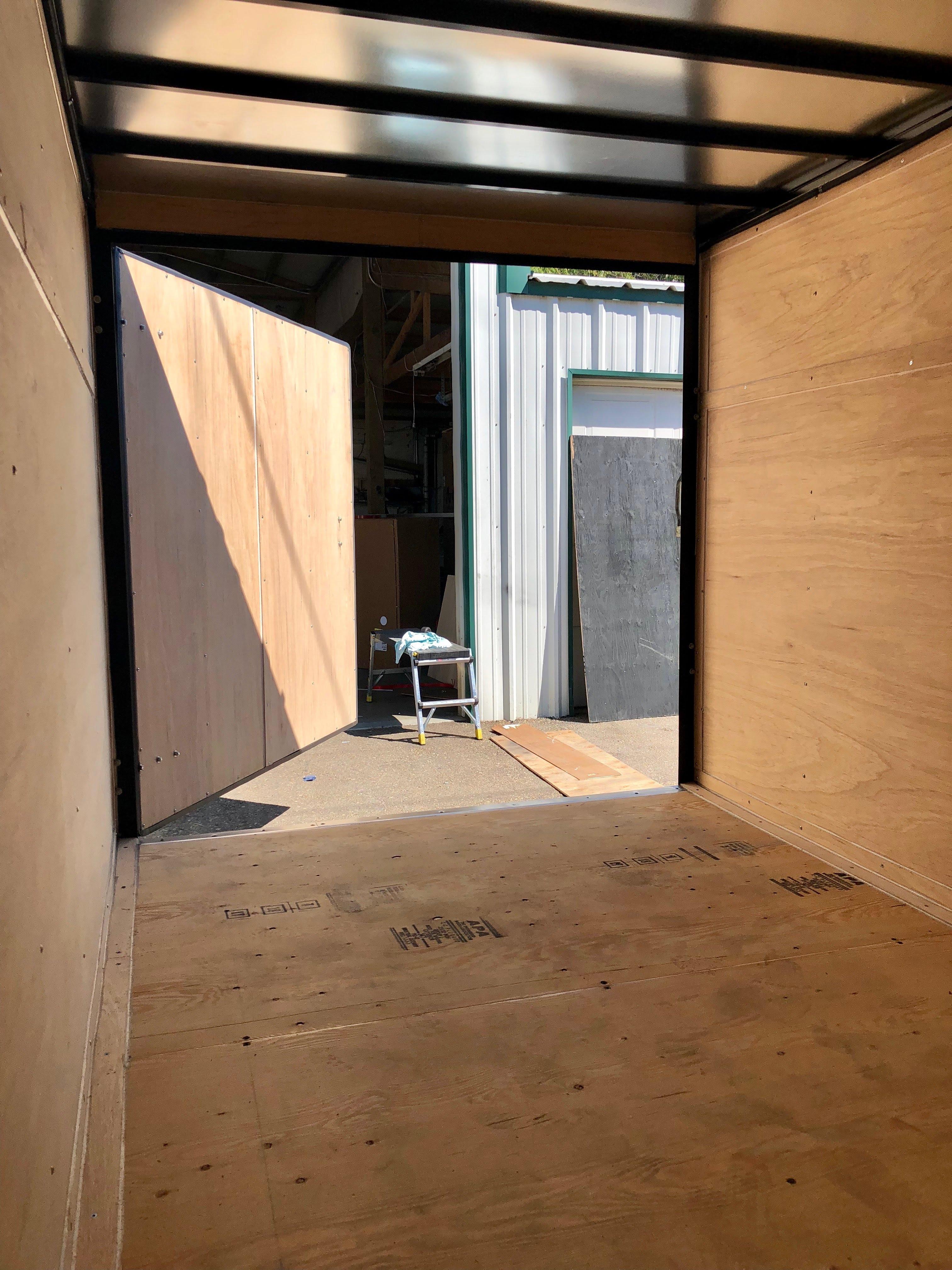 Cargo Trailer 1 Interior