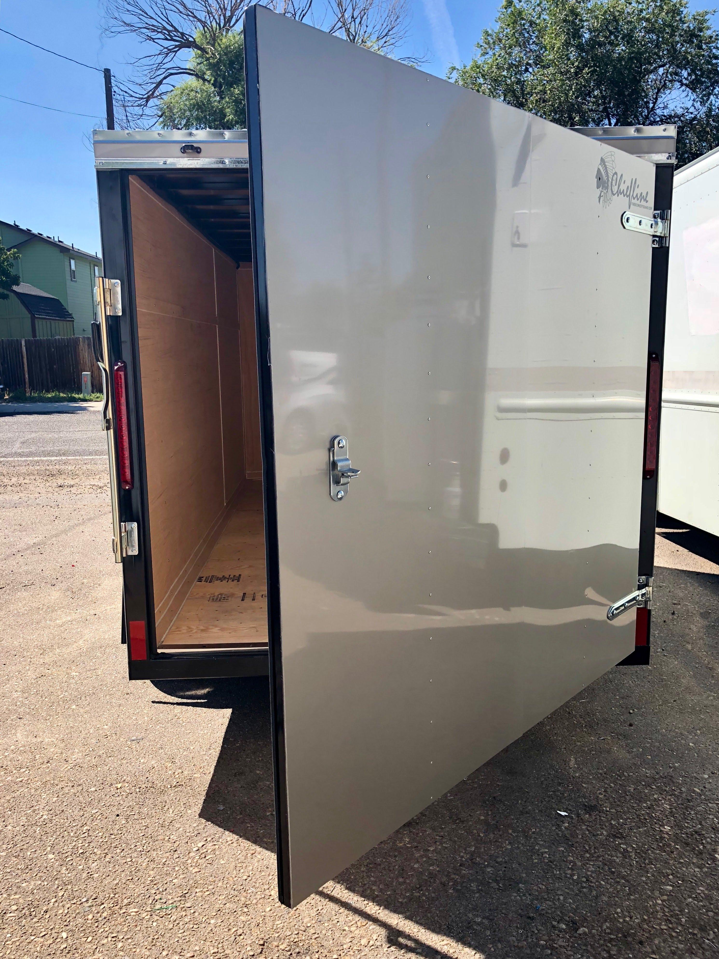 Cargo Trailer Door 1