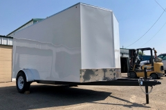White Cargo Trailer 2