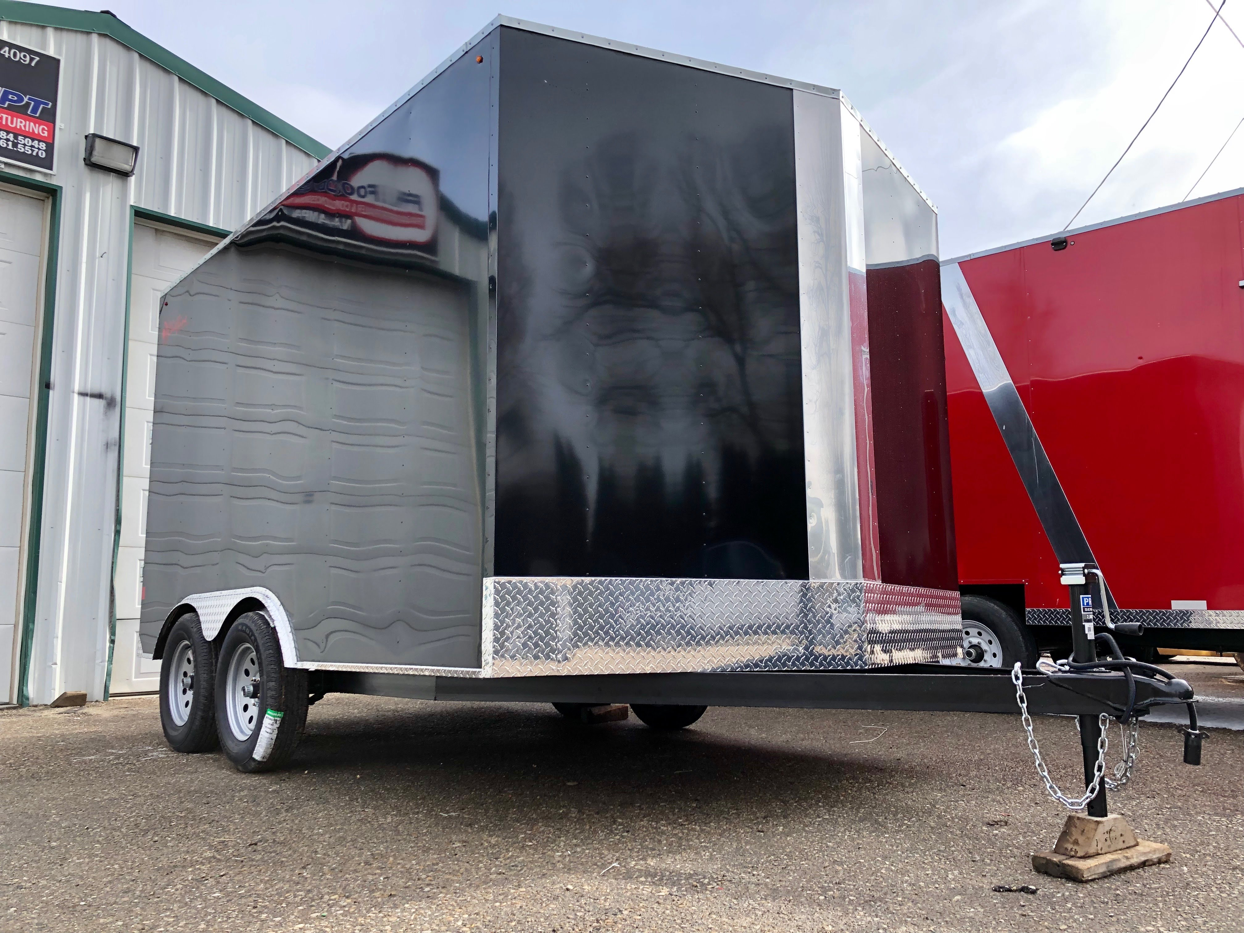 Custom Cargo Trailer Boise