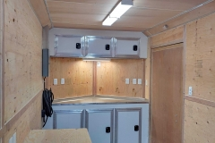 Custom Cargo Trailer with Storage