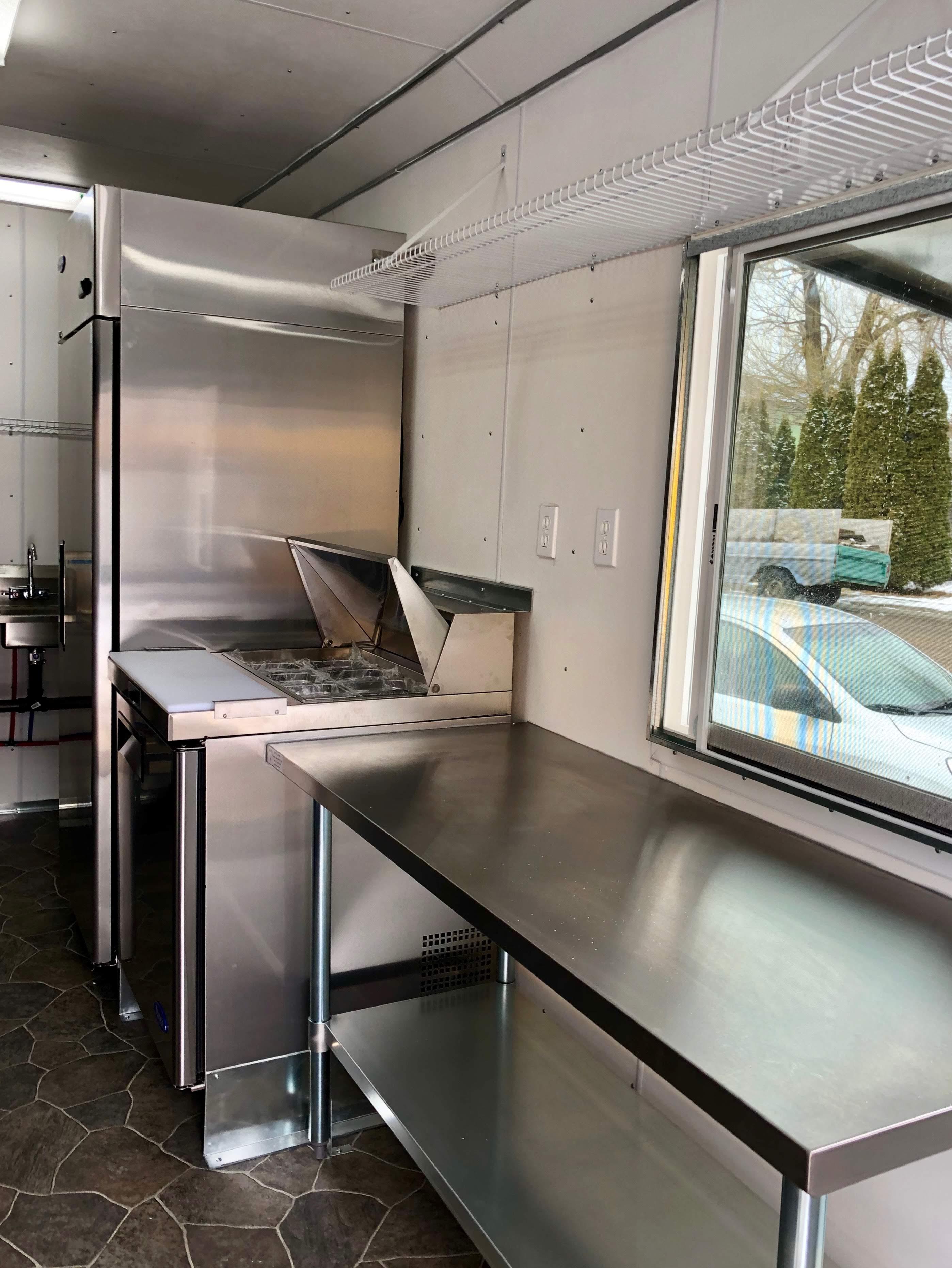 Custom designed Foodtruck kitchens