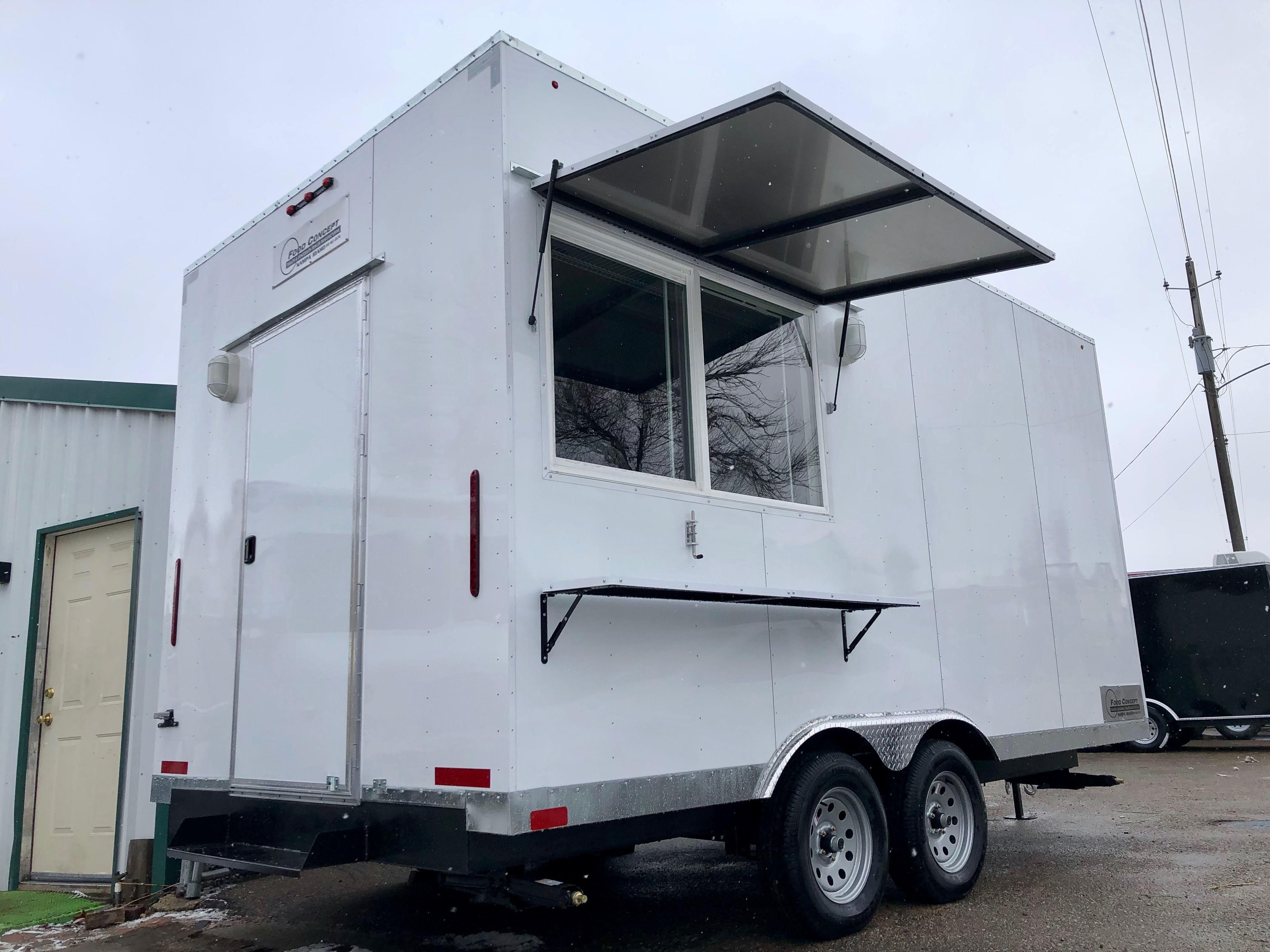 Custom Concessions trailer Idaho