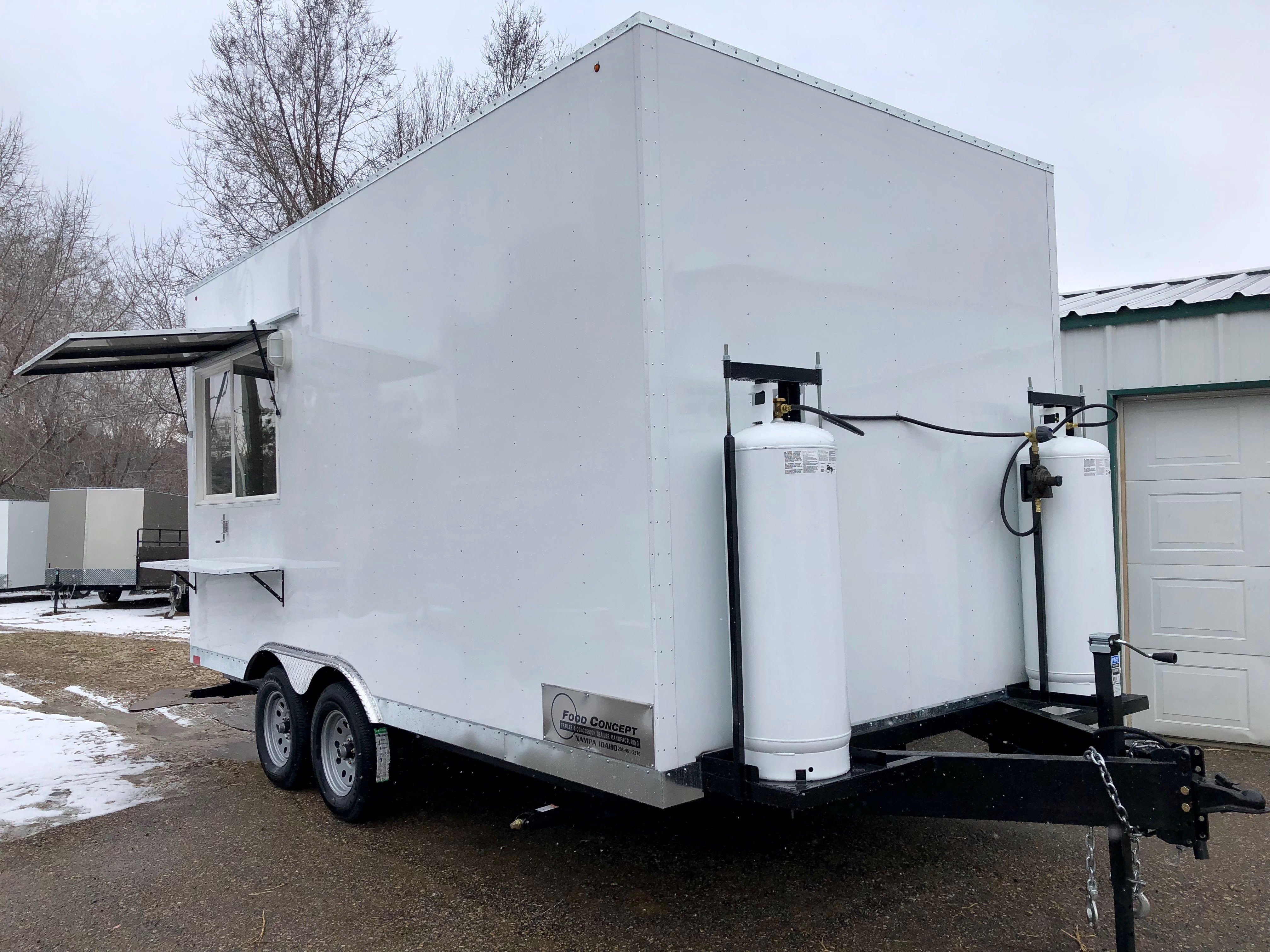 Custom Concessions trailer Boise