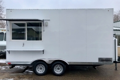 Custom Concessions trailer Meridian