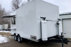 Custom Concessions trailer Boise