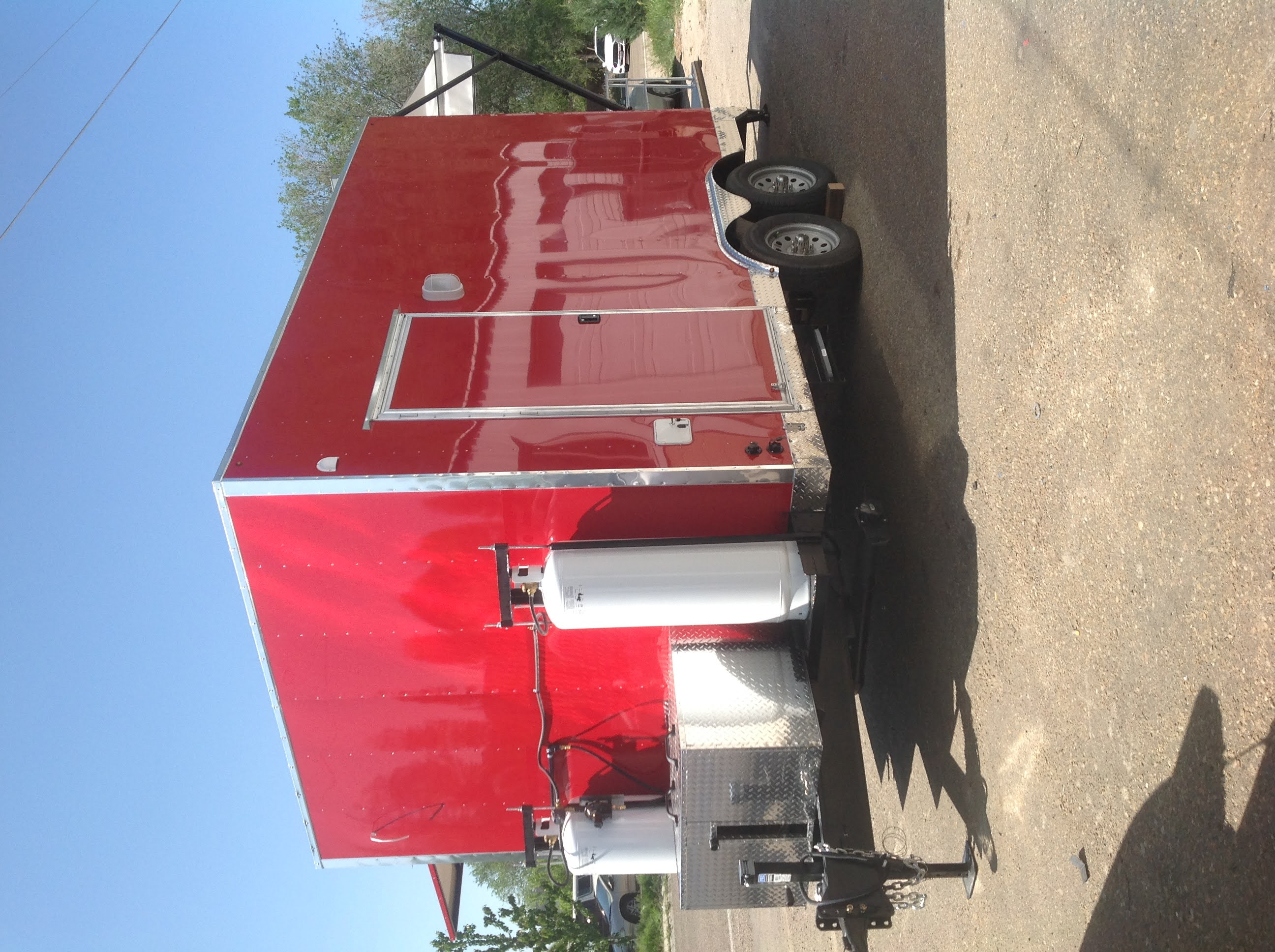 Concession Trailer Kitchen Custom made in Boise Area