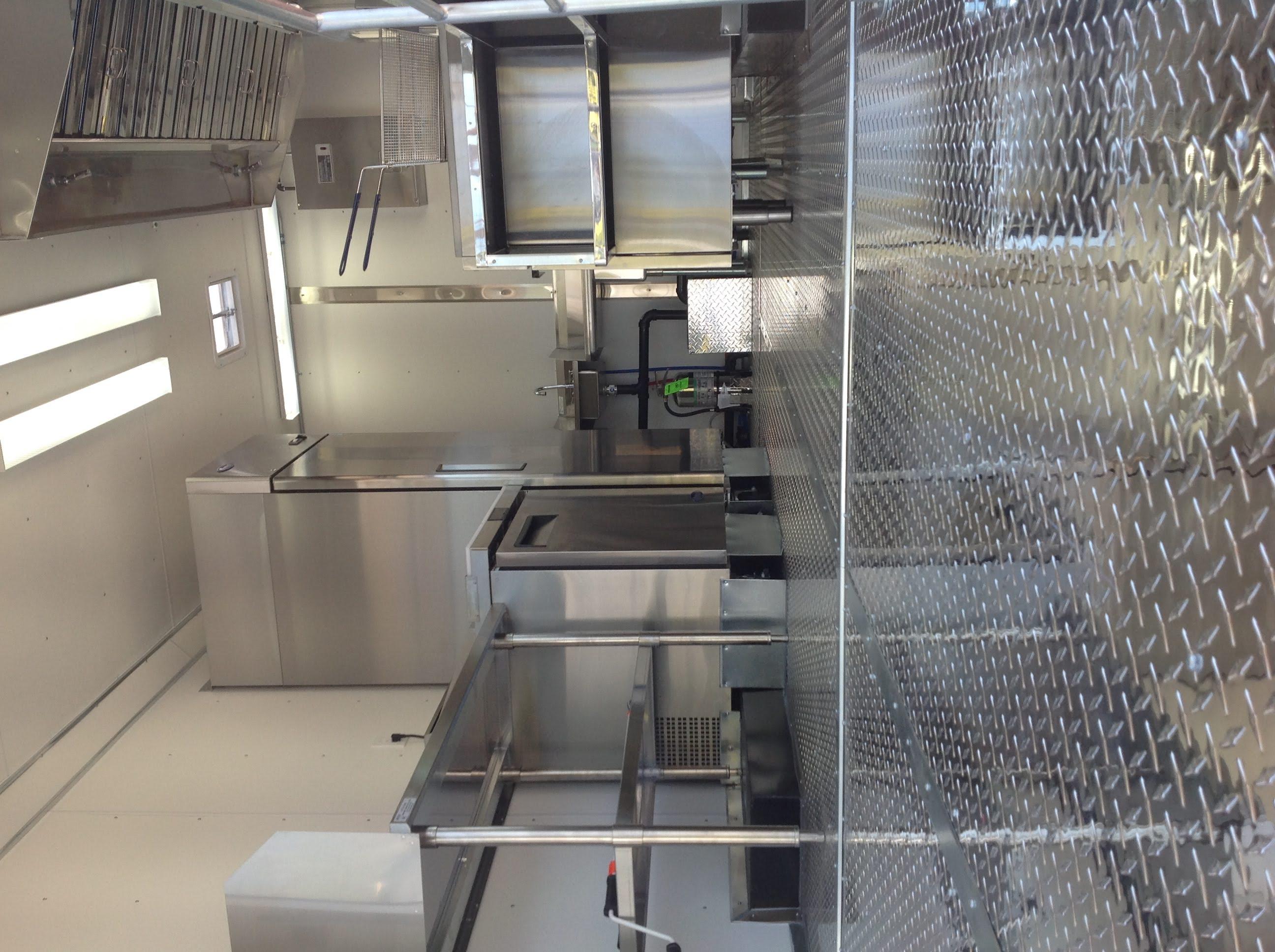 Idaho Concession Trailer Kitchen to Code
