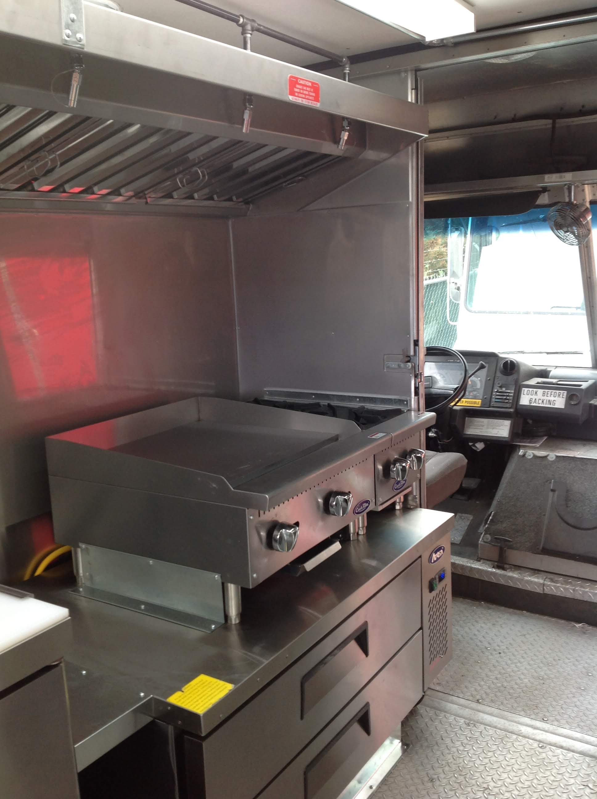 Food Truck Kitchen 2