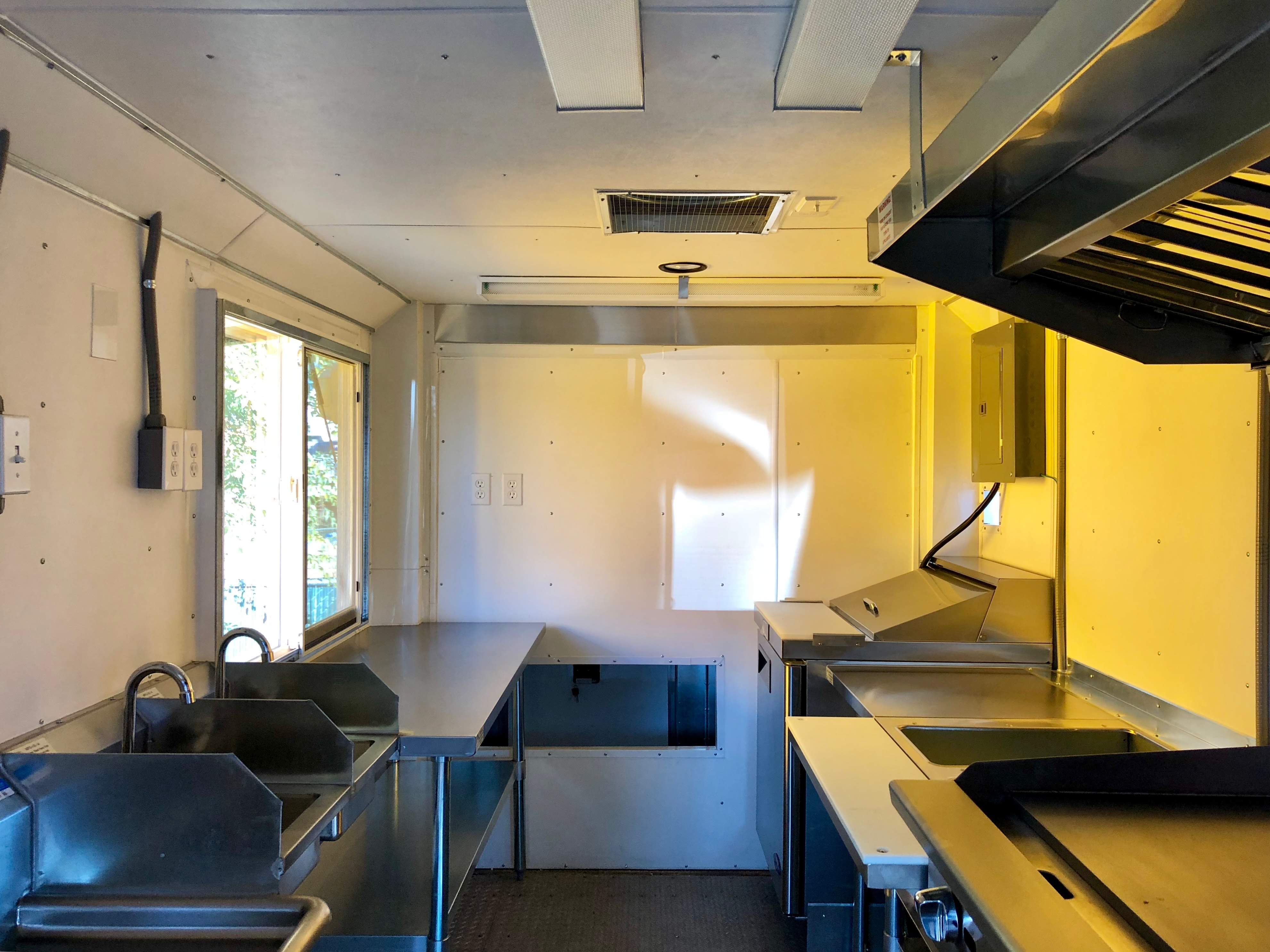 Custom Food truck kitchen Eagle