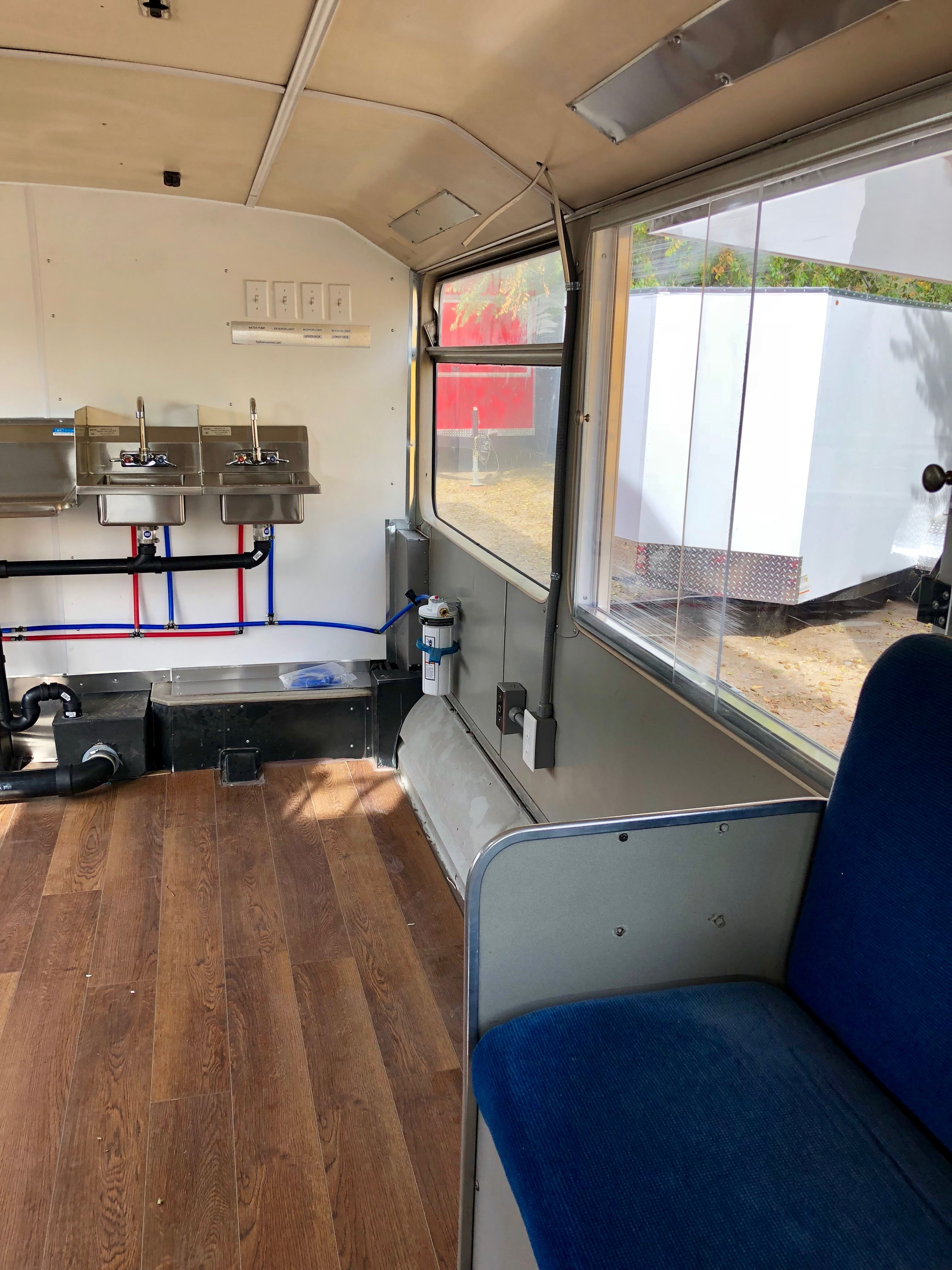 After Custom Food truck kitchen