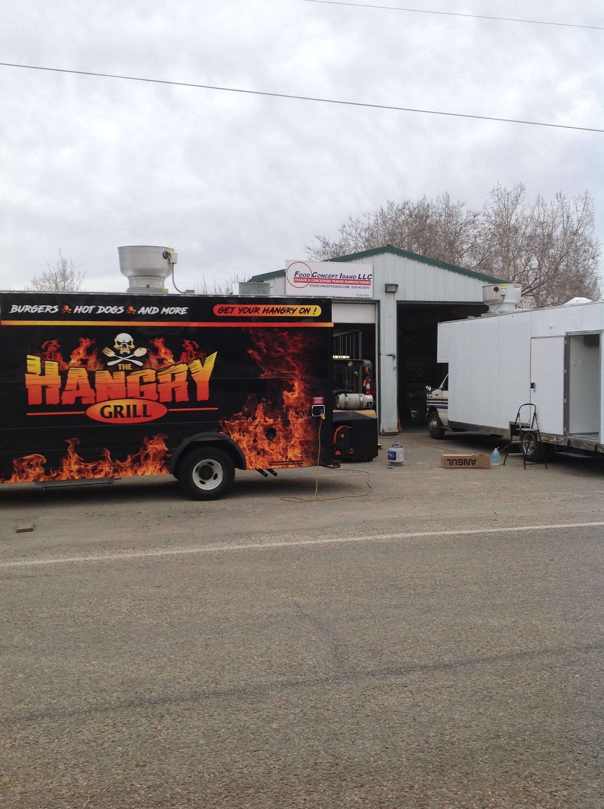 Idaho Food Truck Remodel