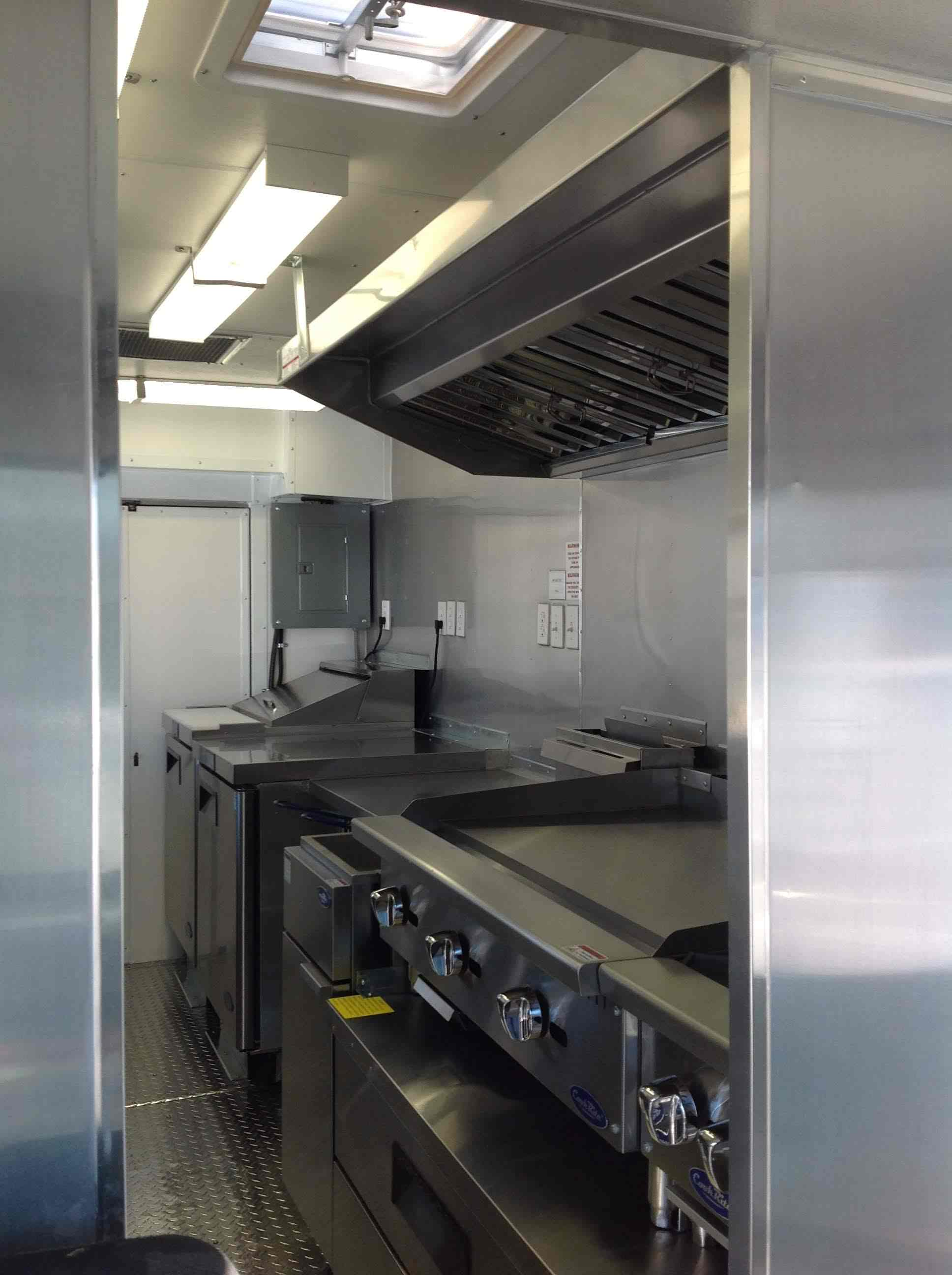 Idaho Foodtruck Interior Kitchen Install to Code