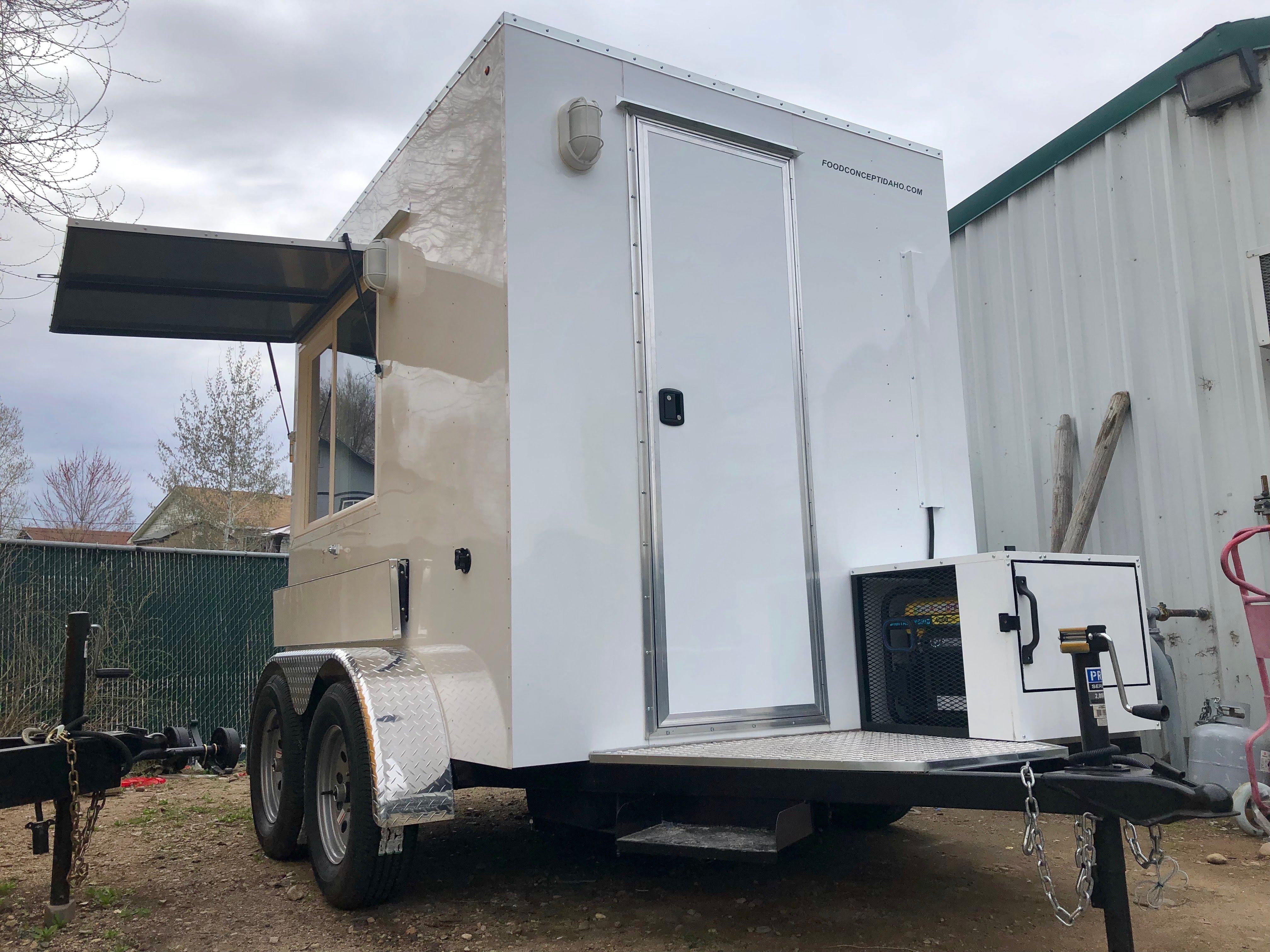 New Food Truck Trailer