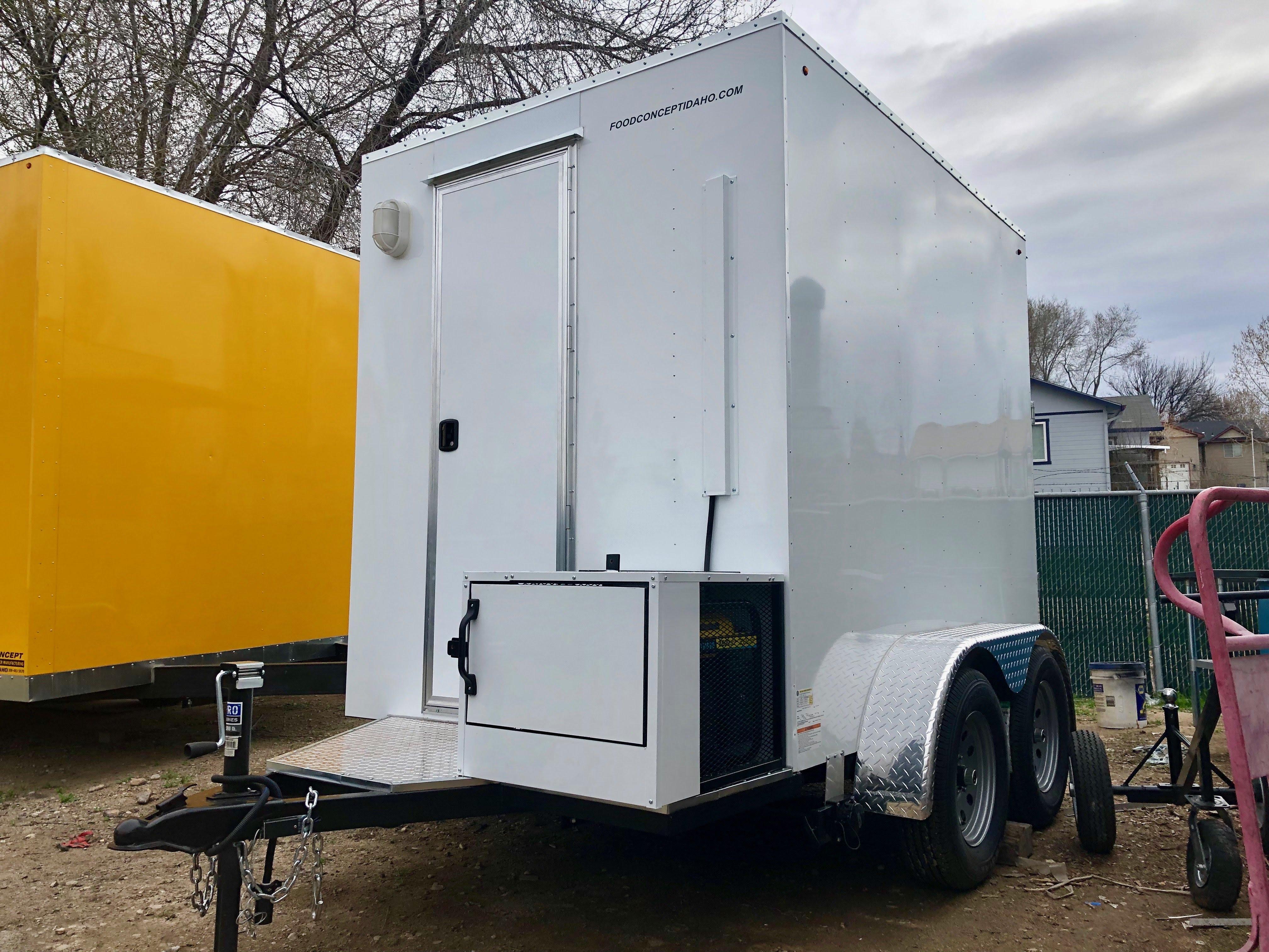 Custom Food Truck Trailer