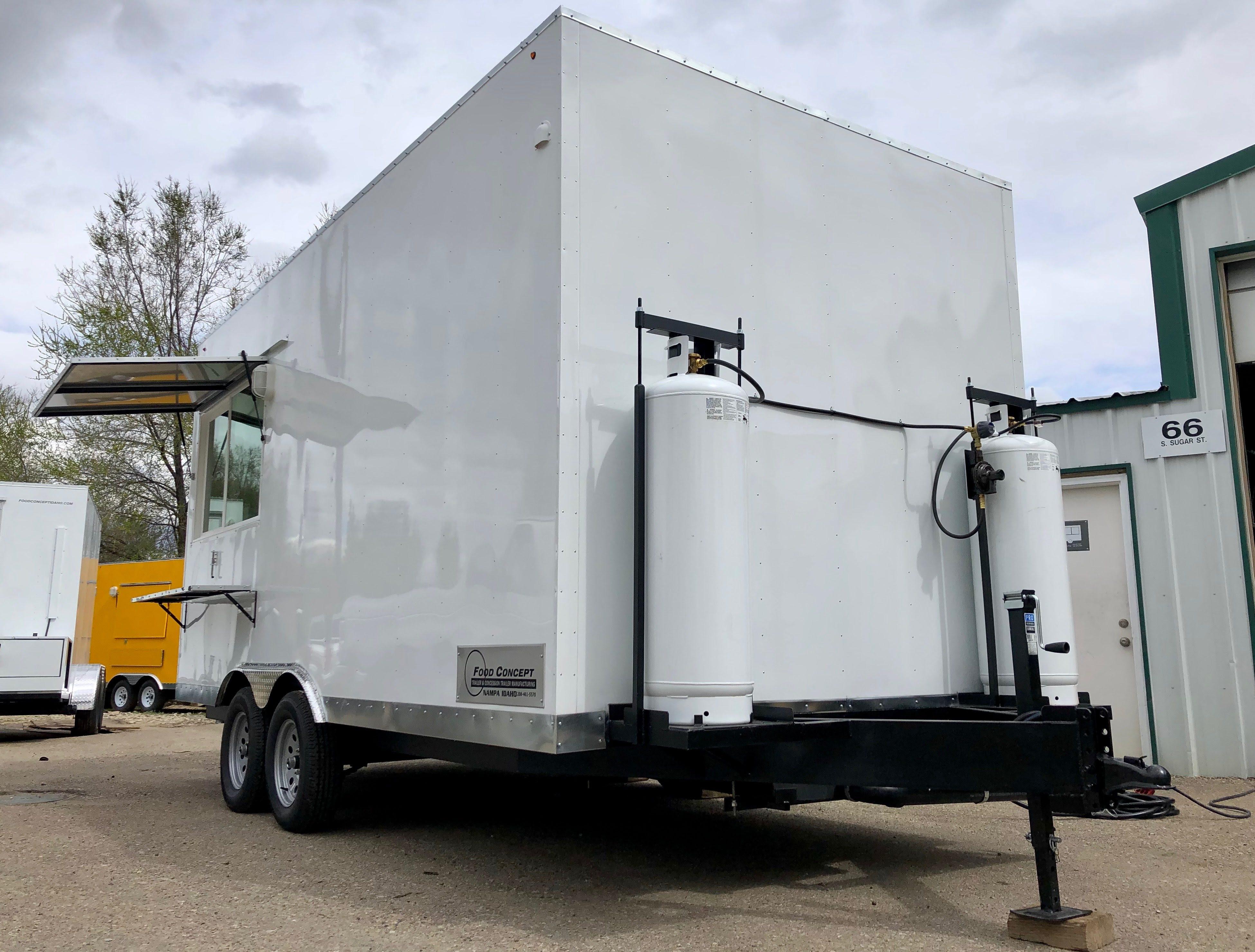 New Food Truck Trailer Eagle
