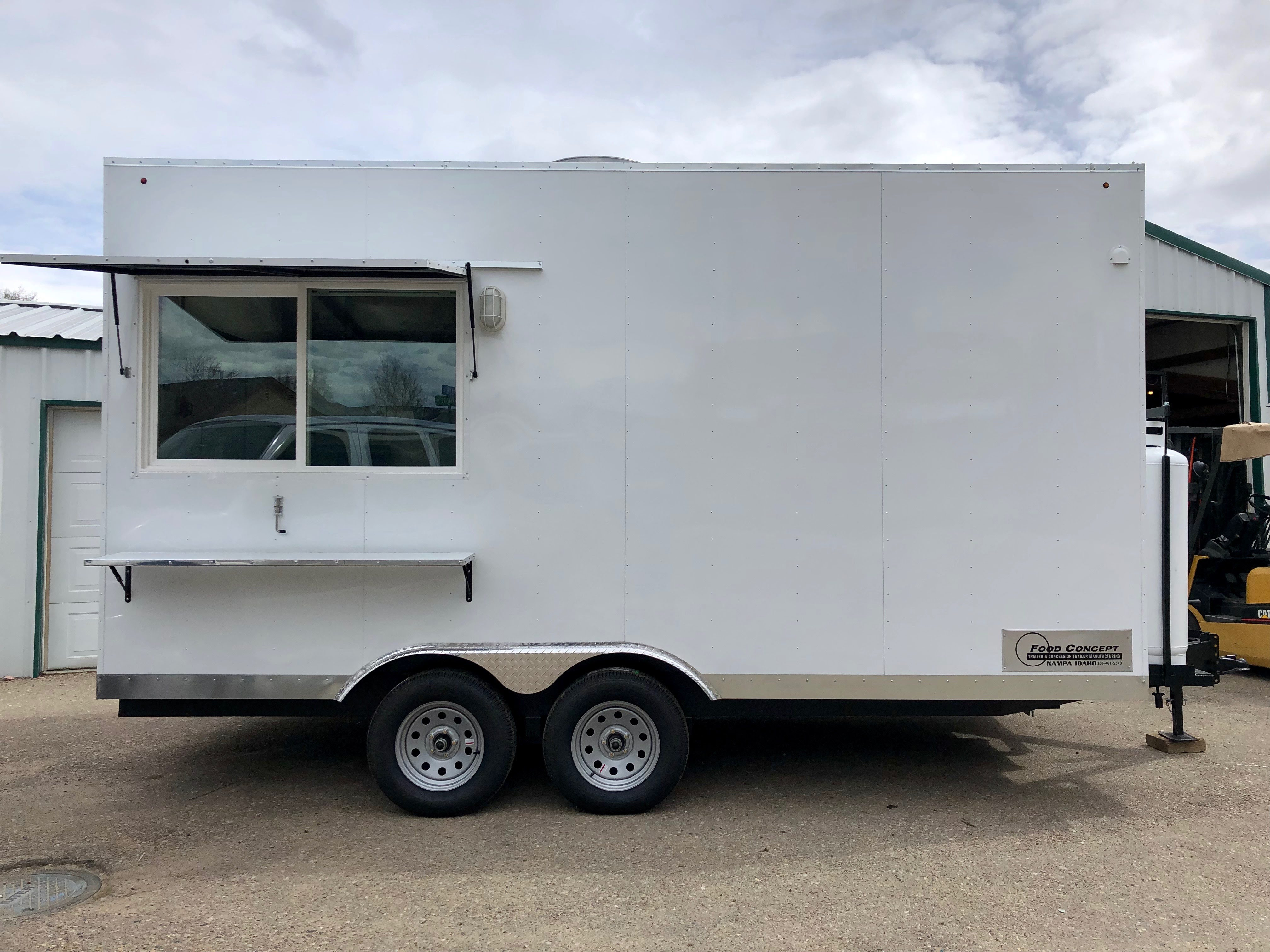 New Food Truck Trailer Meridian