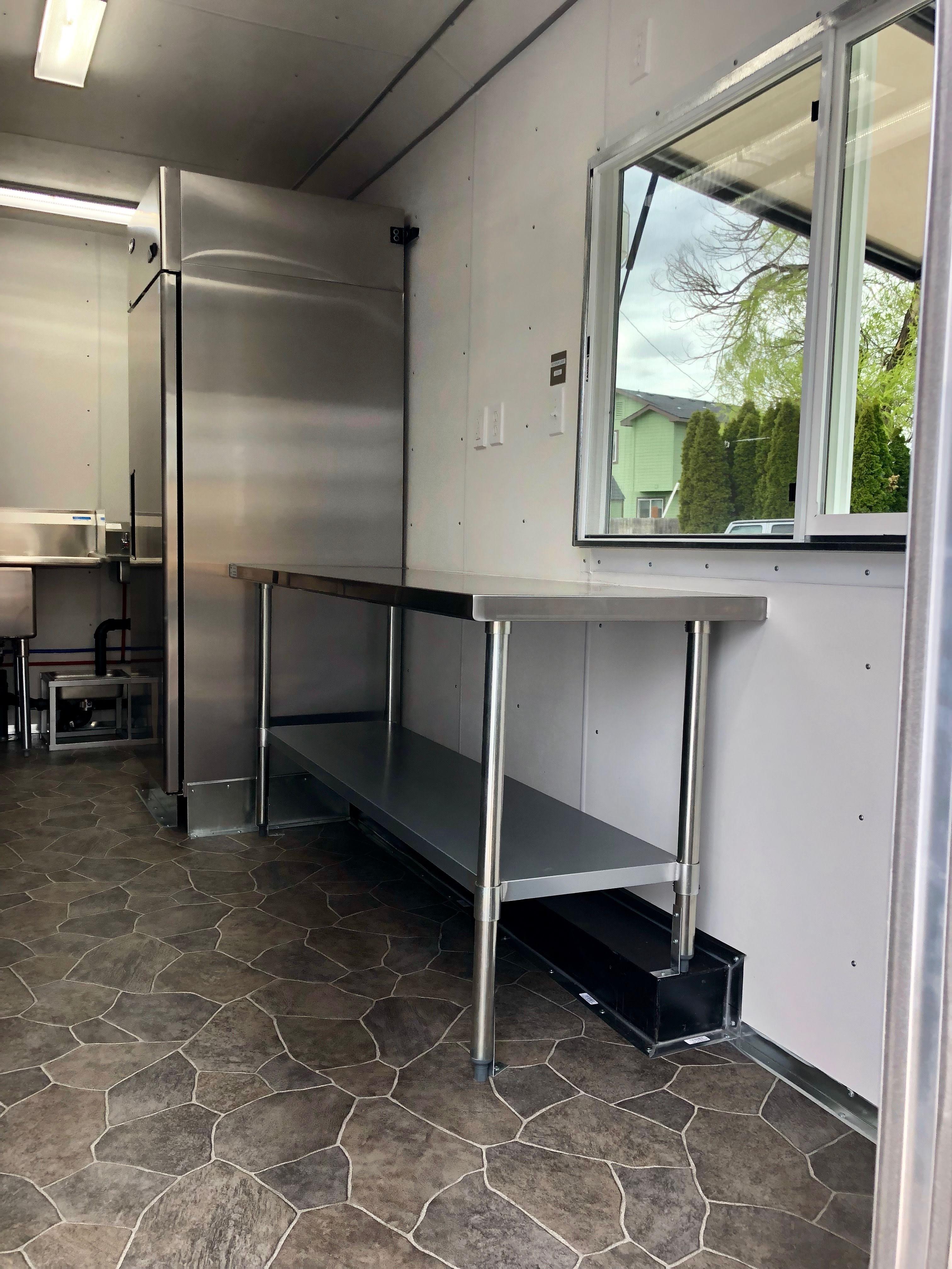 Custom Food Truck Kitchen Idaho