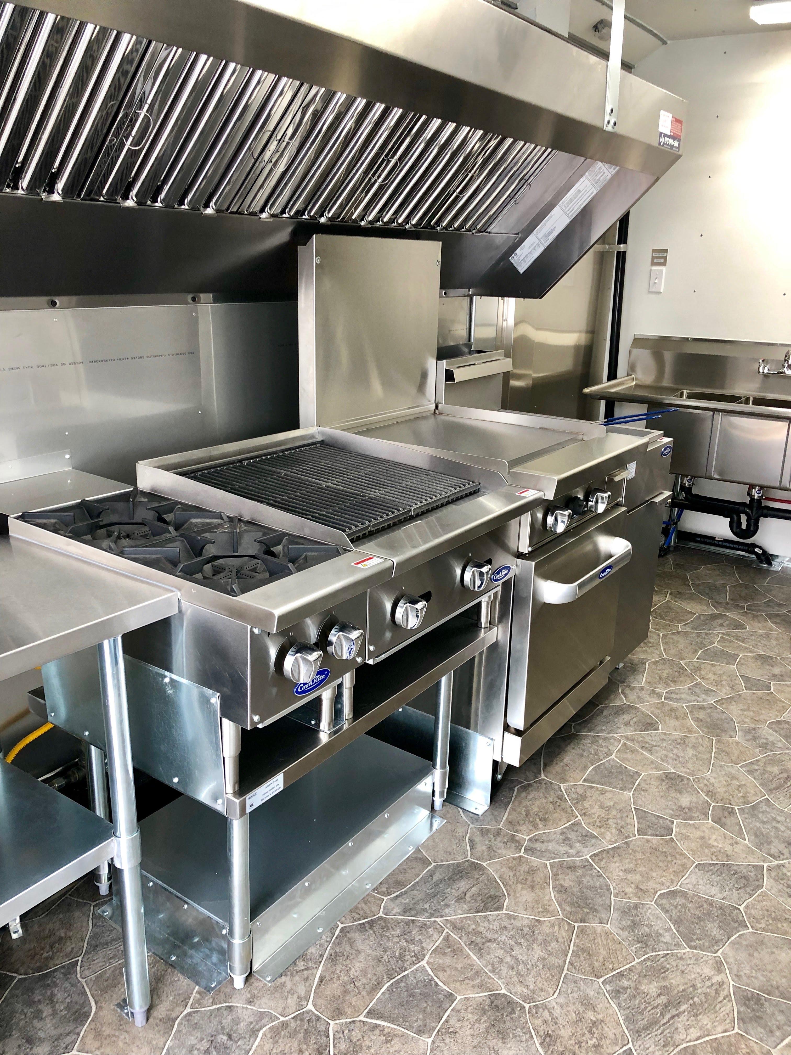 New Food Truck Kitchen Idaho