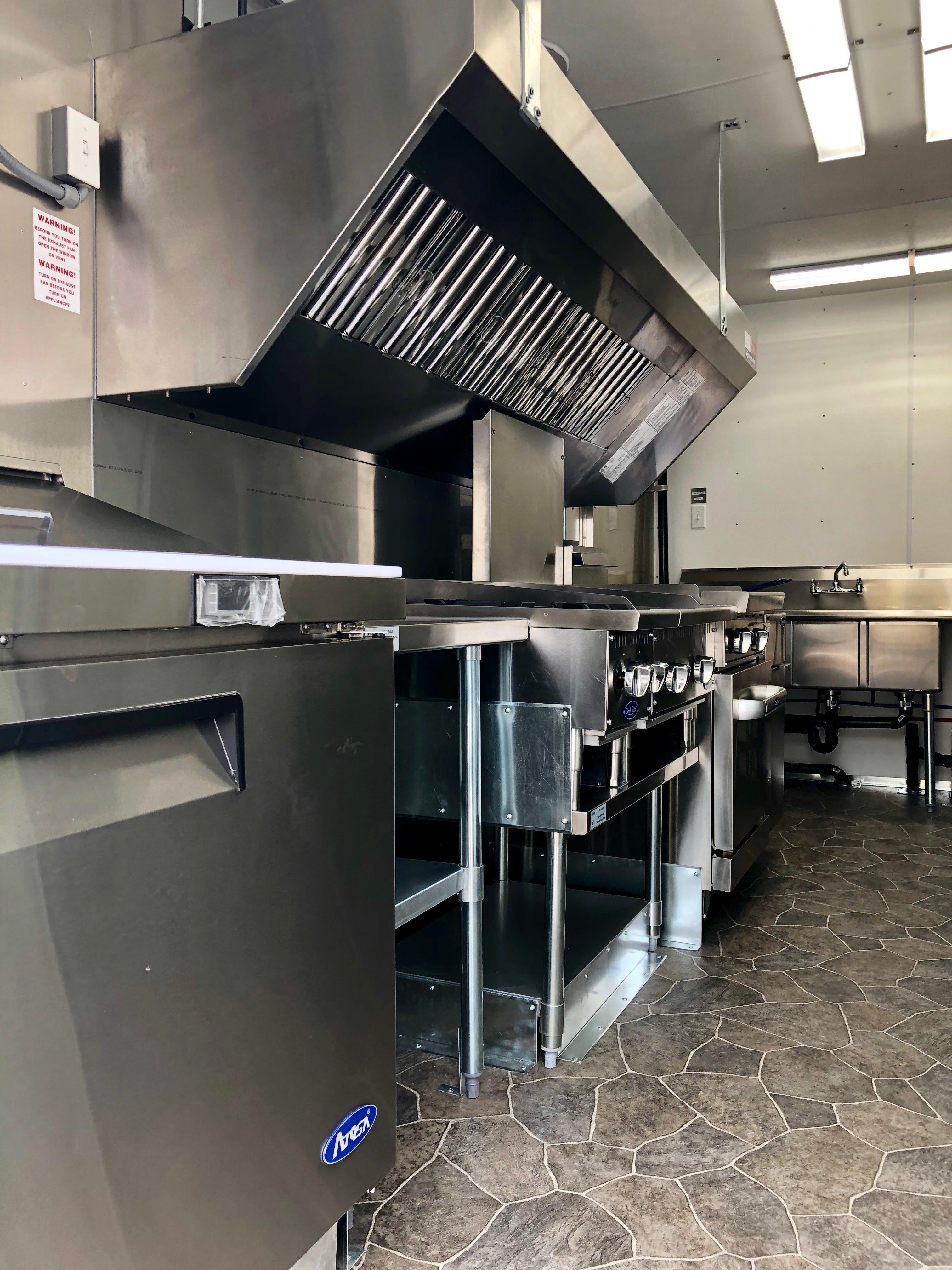 New Food Truck Kitchen