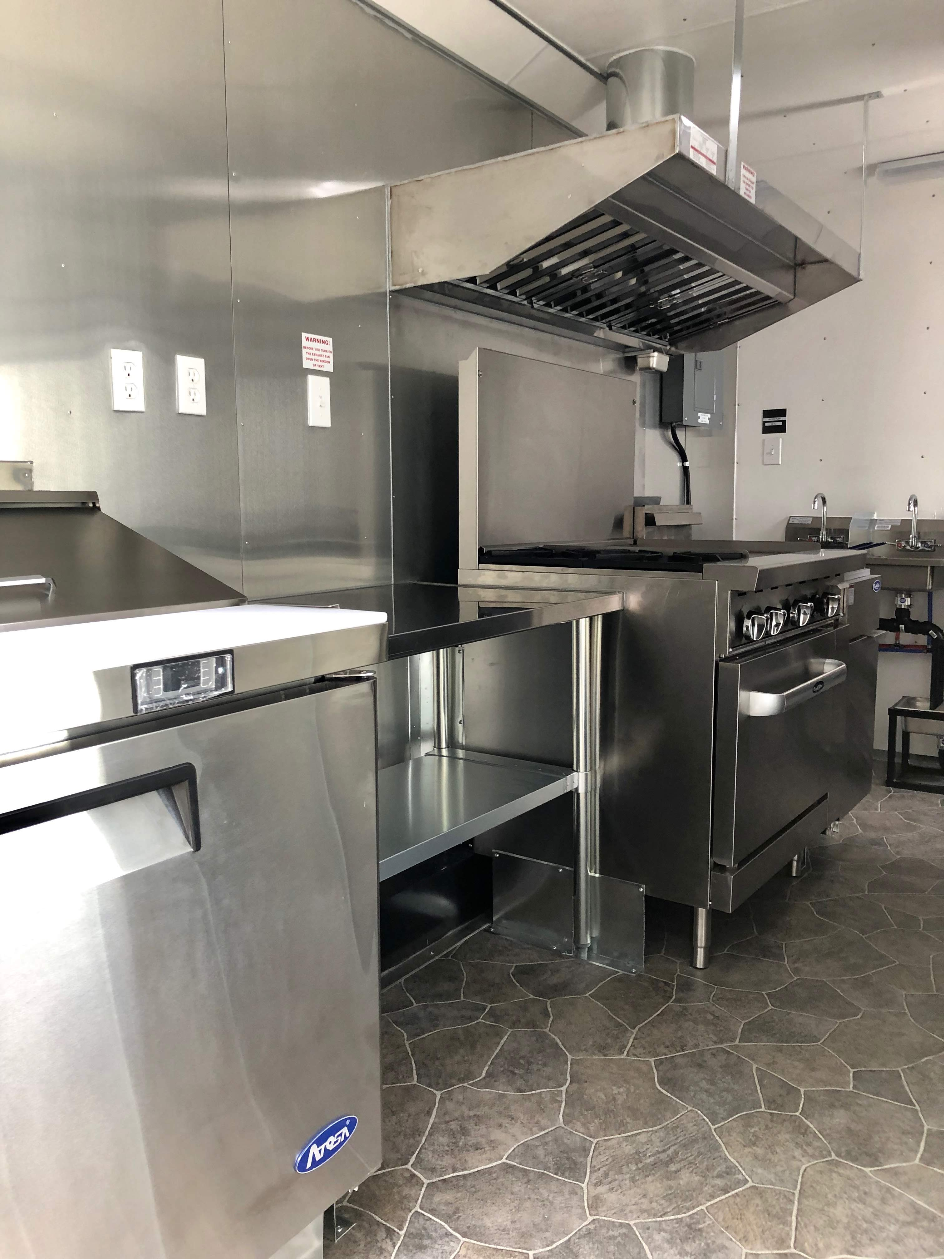 Custom Food Truck Kitchens