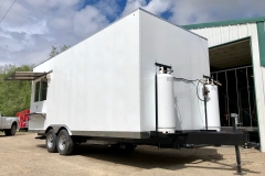 Custom Designed Foodtruck Trailer Eagle